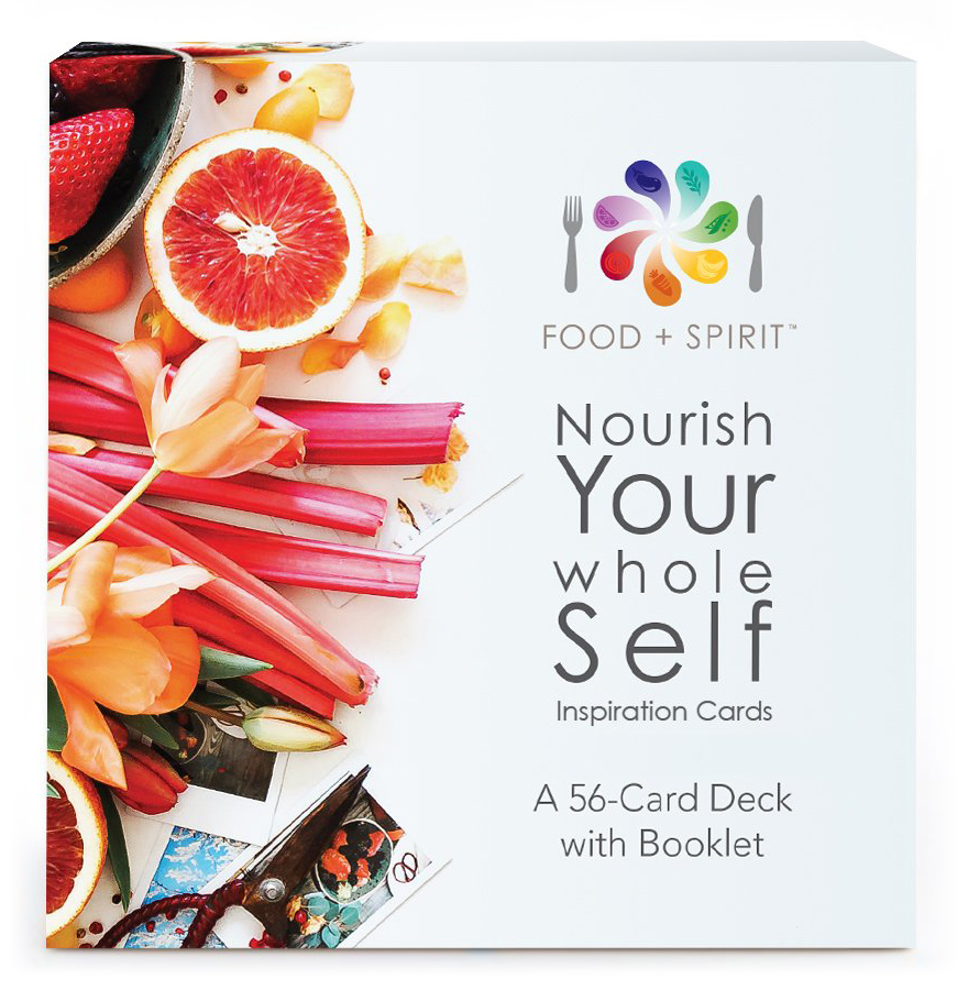 Book Cover: Food & Spirit Nourish Your Whole Self Affirmation Cards