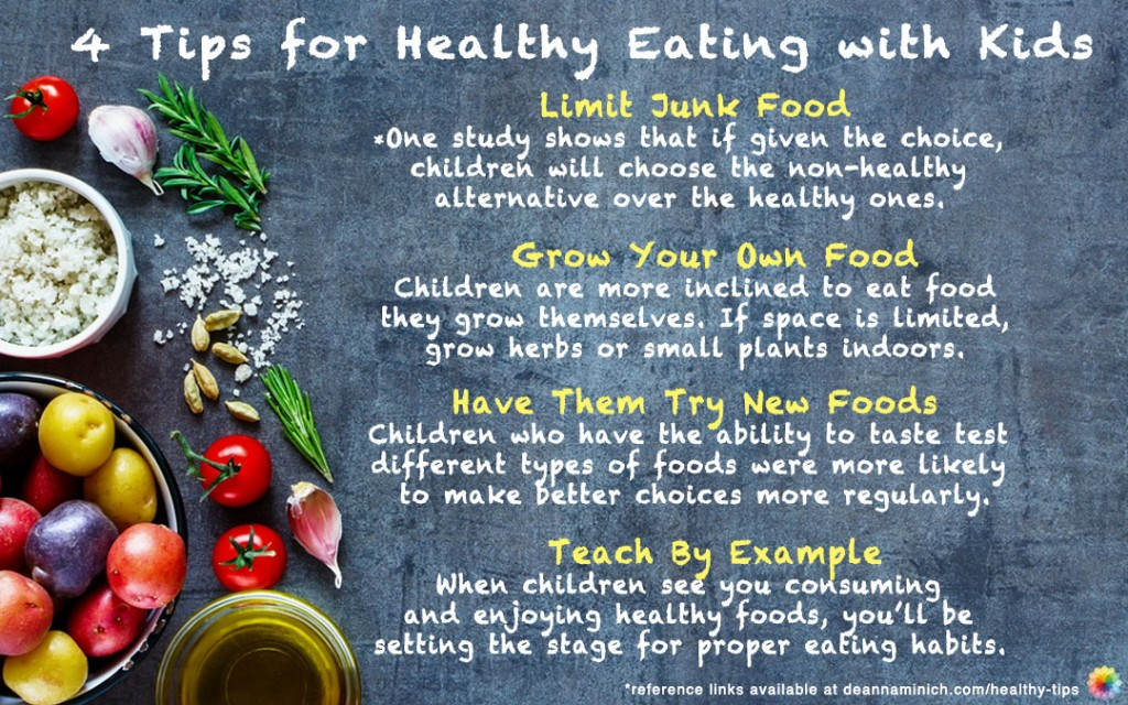 6 Tips To Get Kids To Eat Healthy Deanna Minich